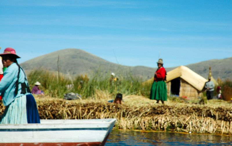 "The Uros call themselves Kotsuña, ""the lake people"", and their origins go back to eras before the Incas."