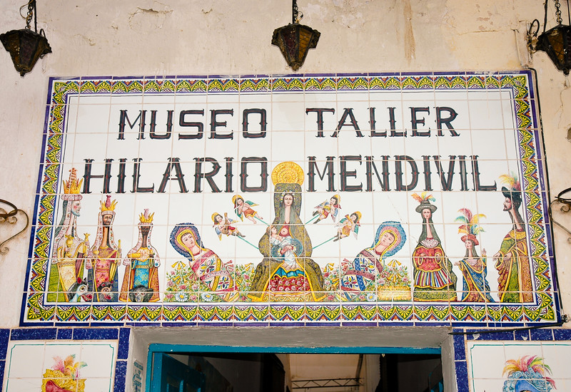 "Hilario Mendivil Museum<br /> Cusco<br /> <br /> This small museum displays works of Hilario Mendivil Velasco, a famous Peruvian artist, well known for his sculptures of religious figures.<br /> <br /> ""As San Blas's most famous son, the former home of 20th-century Peruvian religious artist Hilario Mendívil (1929–77) makes a good stop if you have an interest in Cusqeñan art and iconography. Legend has it that Mendívil saw llamas parading in the Corpus Christi procession as a child and later infused this image into his religious art, depicting all his figures with long, llama-like necks. In the small gallery are the maguey-wood and rice-plaster sculptures of the Virgin with the elongated necks that were the artist's trademark.""  - Fodors"