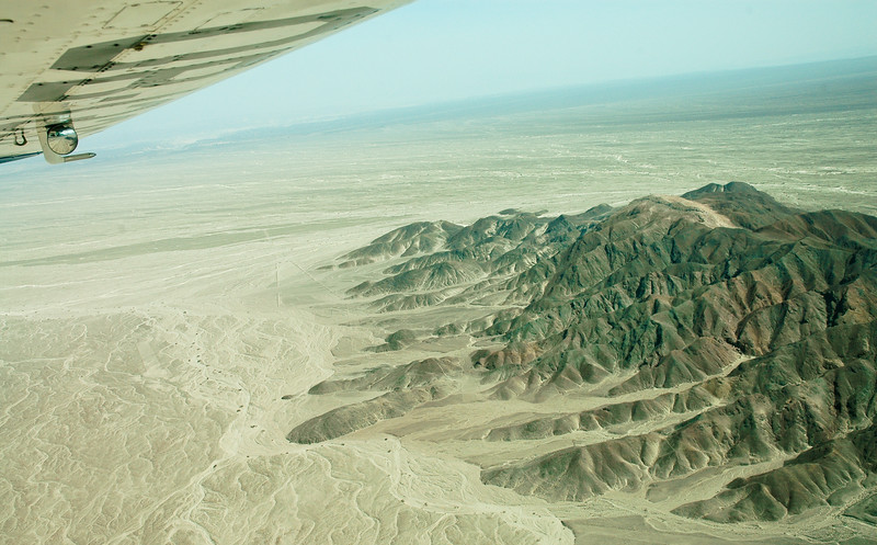 Mountains of Nazca Province<br /> Aerial View