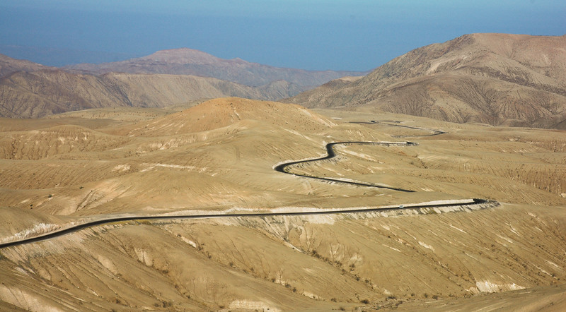 Winding Road to City of Nazca<br /> Nazca Province
