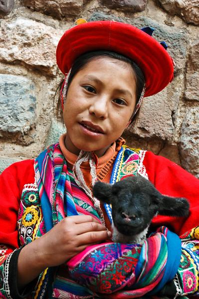 Inca Girl<br /> Cuzco