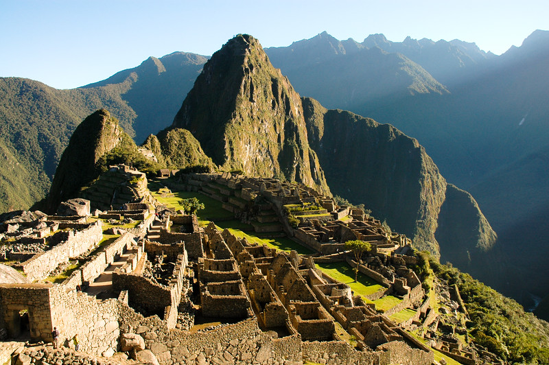 The Lost City of the Incas<br /> Ancient Ruins of Machu Picchu