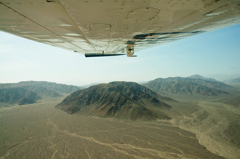 Aerial View, Mountains of Nazca