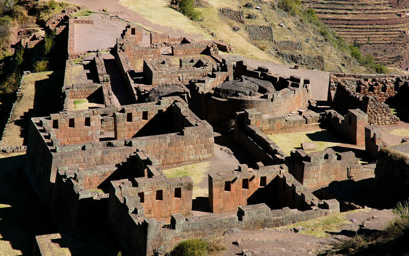 Pisac Ruins<br /> Sacred Valley of the Incas