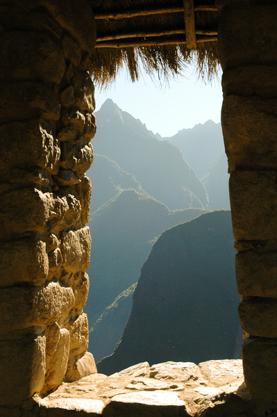 Window<br /> Machu Picchu