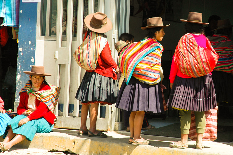 Native Peruvian Women