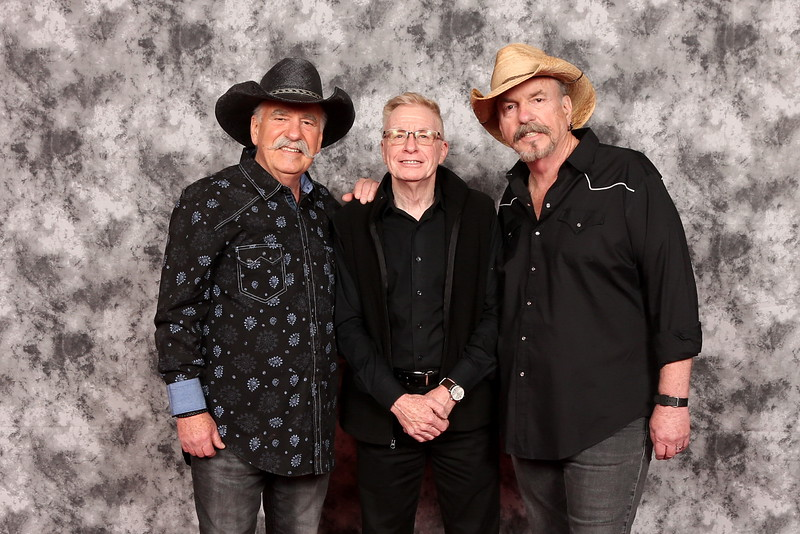 Peter with the Bellamy Brothers