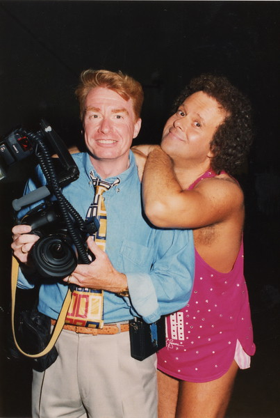 A Photo Shoot with Richard Simmons