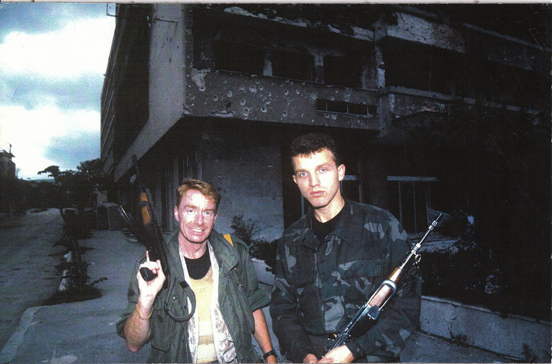 During the Bosnian War