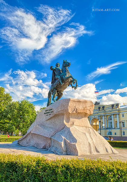Saint-Petersburg, Piter the Great Monument / Санкт-Петербург, Медный Всадник