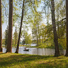 Gatchina Park. Spring Boating / Гатчинский парк. Весеннее катание на лодках