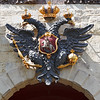 The two-headed eagle at the entrance of Peter and Paul fortress - St-Petersburg / Двуглавый орел над входом в Петропавловскую крепость - Санкт-Петербург