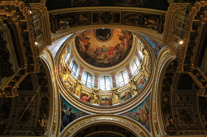 St Isaac's Cathedral, The Main Dome / Исакиевский собор, главный купол
