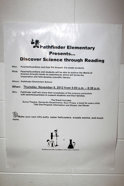 11/8/2012 - Discover Science Through Reading (Pathfinder)