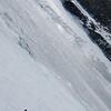 Dans les Grands Couloirs, les skis de course demandent un peu plus d'attention qu'à la normale, mais ça va finalement plutôt bien.
