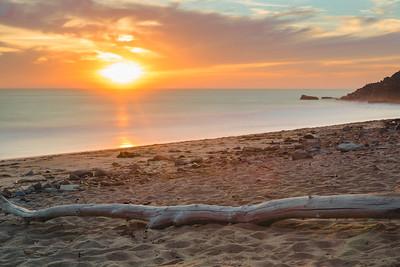 Coastal Sunset Beauty