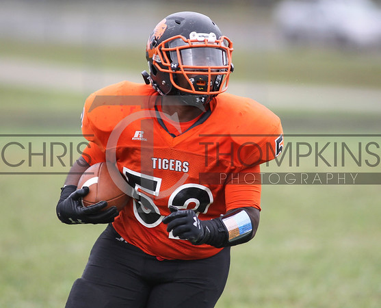 September 14, 2019: HS football action between Parkdale HS and Duval HS in Lanham, MD. Photos by Chris Thompkins/thesportsfannetwork