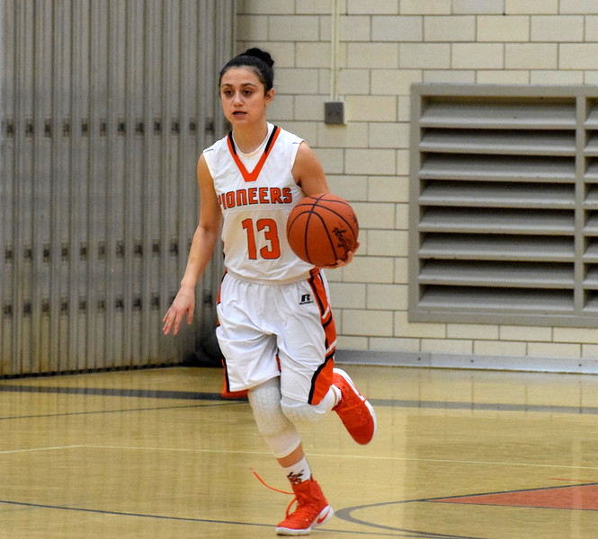 Mahasen Beydoun and the host Dearborn High Pioneers dominated Annapolis 69-23 on Tuesday night. (MIPrepZone Photo Gallery by Frank Wladyslawski)