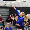 Madison Heights Bishop Foley picked up a 25-9, 25-7, 25-15 win over Madison Heights Lamphere in volleyball on Tuesday night. (MIPrepZone photo by Drew Ellis)