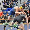 A total of 14 Dearborn-area wrestlers headed to Saline for Division 1, Region 3 action on Saturday. Overall, five of the local grapplers punched their ticket to the state finals. (MIPrepZone Photo Gallery by Alex Muller)