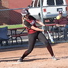 Riverview Gabriel Richard's Sydney Kusiak had two hits in the second  game of a doubleheader on Thursday at home against Dearborn Divine Child.  The Pioneers dropped the second game 6-5, which followed a 10-1 defeat in the first contest. (MIPrepZone Photo Gallery by Frank Wladyslawski)