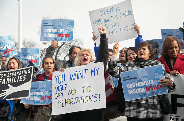 Anti-Deportation Rally at the Supreme Court