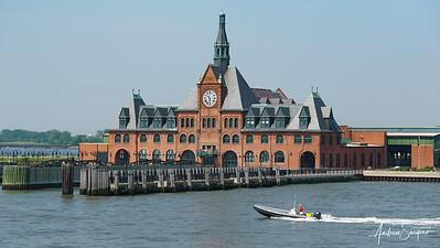 Cruising Through Ellis Island