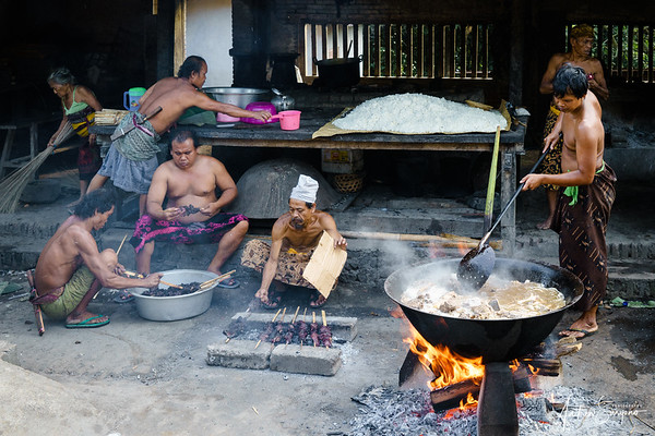 Traditional Barbecue at Tenganan Village