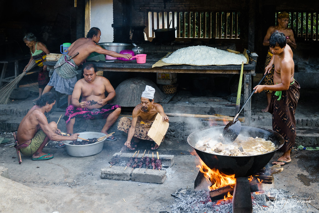 Traditional Barbecue at Tenganan Village