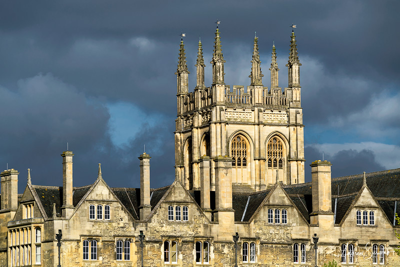 Oxford's Christ Church College Side View