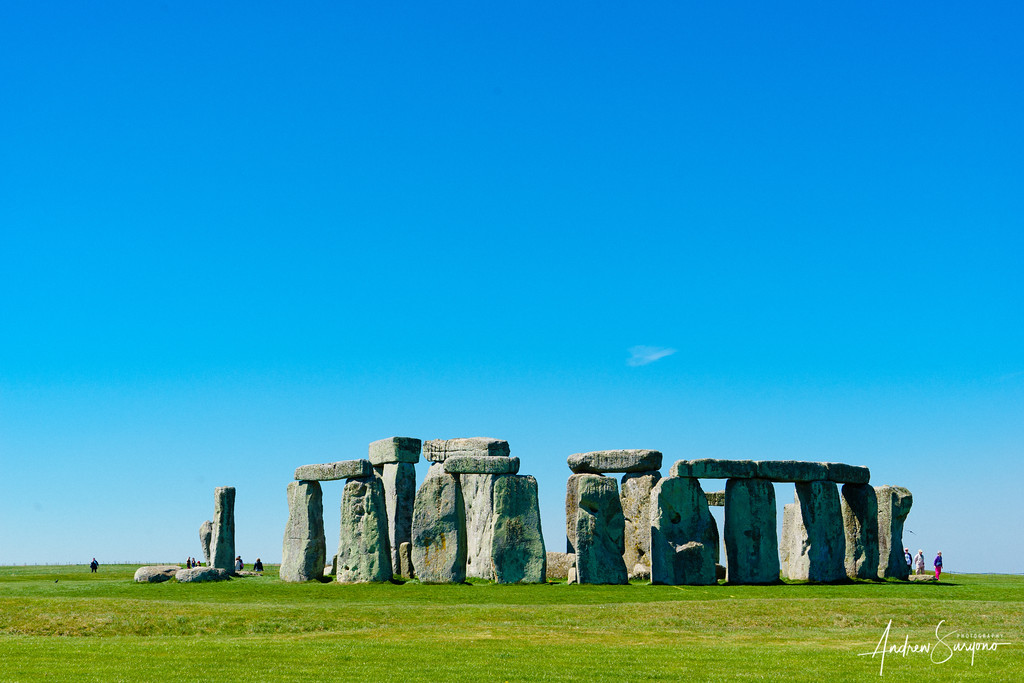 Blue, Grey and Green at Stonehenge