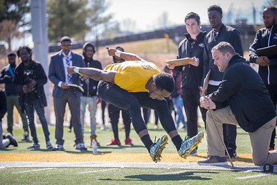 Bowie State Football Pro Day