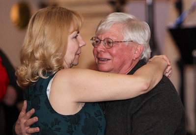 February 23, 2019: An couple slow dances during the Winter Dinner/Dance Christmas in April event in Clinton. Photo by: Chris Thompkins/Prince George's Sentinel