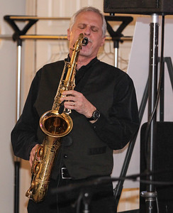 February 23, 2019: Saxophonist Tom Ruggieri performs during the Winter Dinner/Dance Christmas in April event in Clinton. Photo by: Chris Thompkins/Prince George's Sentinel