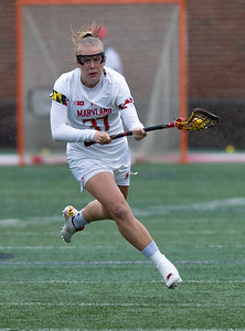 College Park, MD, Sunday, May 12, 2019: Maryland Terrapins Meghan Siverson (37) in action during a NCAA Women's Lacrosse second round matchup between Stony Brook and Maryland played at Capital One Field at Maryland Stadium in College Park, MD. (Michael R. Smith/The Prince George's Sentinel).