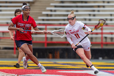 NCAA Women's Lacrosse 2nd Round: Stony Brook vs Maryland