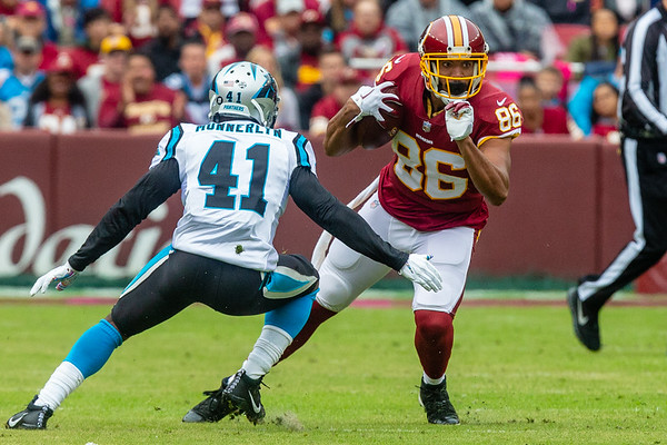 Football: Redskins vs. Panthers