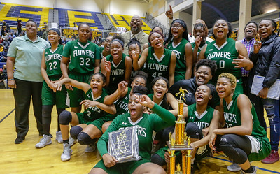 The Prince George County Girl's  Basketball Championship: Flowers vs Gwynn Park