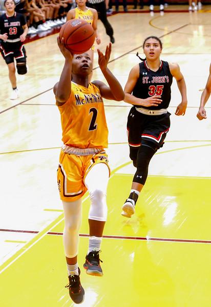 WCAC Girl's Basketball: St. John's vs Bishop McNamara