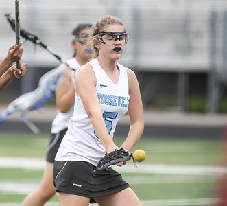 May 4, 2019: Roosevelt attacker Isabella Gandolph (5) scores a goal during PG County girls lacrosse championship between Gwynn Park HS and E. Roosevelt HS in Glen Dale. Photo by: Chris Thompkins/Prince Georges County Sentinel