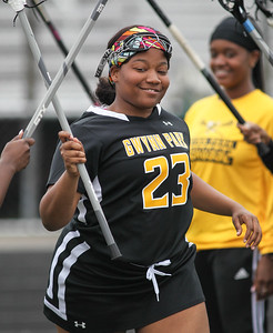 May 4, 2019: Gwynn Park Desiree Jenkins (23) is introduced  during PG County girls lacrosse championship between Gwynn Park HS and E. Roosevelt HS in Glen Dale. Photo by: Chris Thompkins/Prince Georges County Sentinel