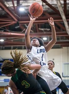 HS Girls Basketball 1A South Regional Championship : Surrattsville vs. Largo