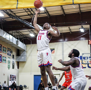 January 11, 2020: Friendly Jules Bikoy (11) grabs an rebound during HS boys basketball action between Grace Brethren Christian School and Friendly HS in Upper Marlboro, MD.  Photos by Chris Thompkins/Prince Georges Sentinel