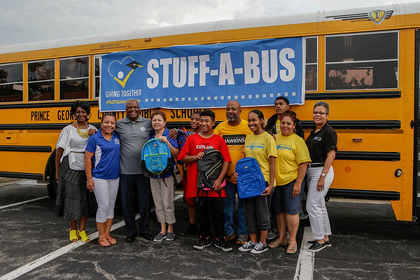 PGCPS Stuff-a-Bus Event Gives Back To Community