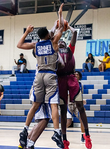Summer Madness Summer League Basketball: Largo vs Douglass