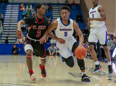 WCAC Boy's Semi-FInal Basketball: St. John's vs DeMatha