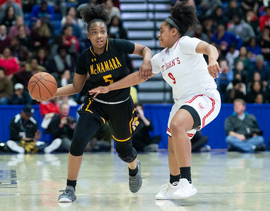 WCAC 2019 Girl's Basketball Championship: St. John's vs Bishop McNamara