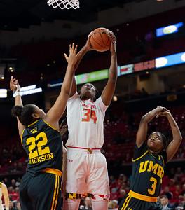 NCAA Women's Basketball- University of Maryland vs UMBC