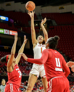 B1G Women's Basketball: Wisconsin vs Maryland
