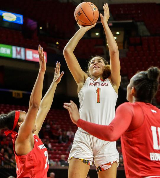 B1G Women's Basketball: Wisconsin vs Maryland